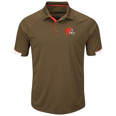 Men's Majestic Cleveland Browns Last Second Win Polo