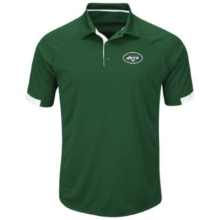 Men's Majestic New York Jets Last Second Win Polo