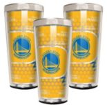 Golden State Warriors 3-Piece Shot Glass Set