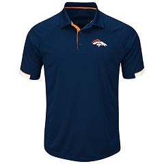 Men's Majestic Denver Broncos Last Second Win Polo