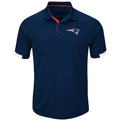 Men's Majestic New England Patriots Last Second Win Polo
