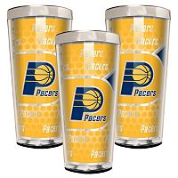 Indiana Pacers 3-Piece Shot Glass Set