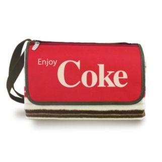 Picnic Time Coca-Cola Blanket Tote