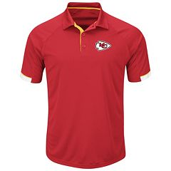 Men's Majestic Kansas City Chiefs Last Second Win Polo
