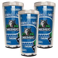 Minnesota Timberwolves 3-Piece Shot Glass Set