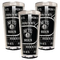 Brooklyn Nets 3-Piece Shot Glass Set