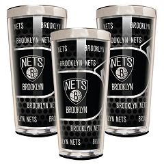 Brooklyn Nets 3 pc Shot Glass Set