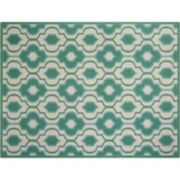 Nourison Home & Garden Geo Trellis Indoor Outdoor Rug