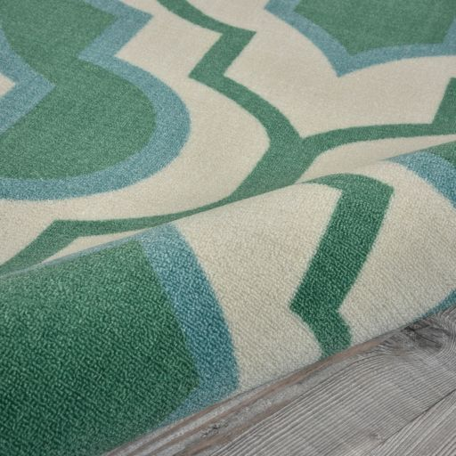 Nourison Home & Garden Geo Trellis Indoor Outdoor Rug