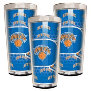 New York Knicks 3-Piece Shot Glass Set