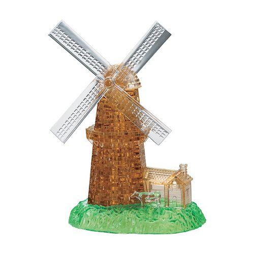 BePuzzled 64-pc. 3D Windmill Crystal Puzzle