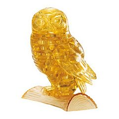 BePuzzled 42 pc 3D Owl Crystal Puzzle