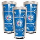 Philadelphia 76ers 3-Piece Shot Glass Set