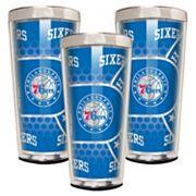 Philadelphia 76ers 3 pc Shot Glass Set