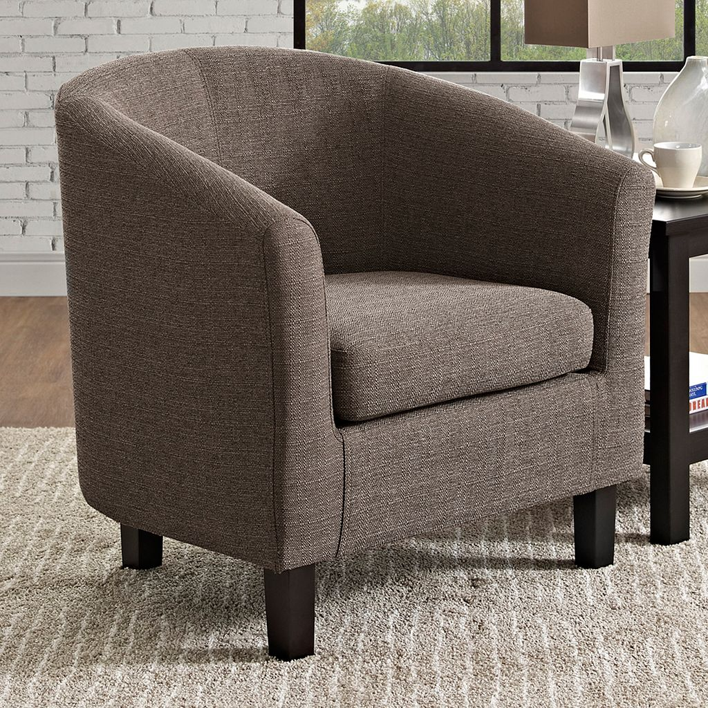 Simpli Home Austin Tub Accent Chair