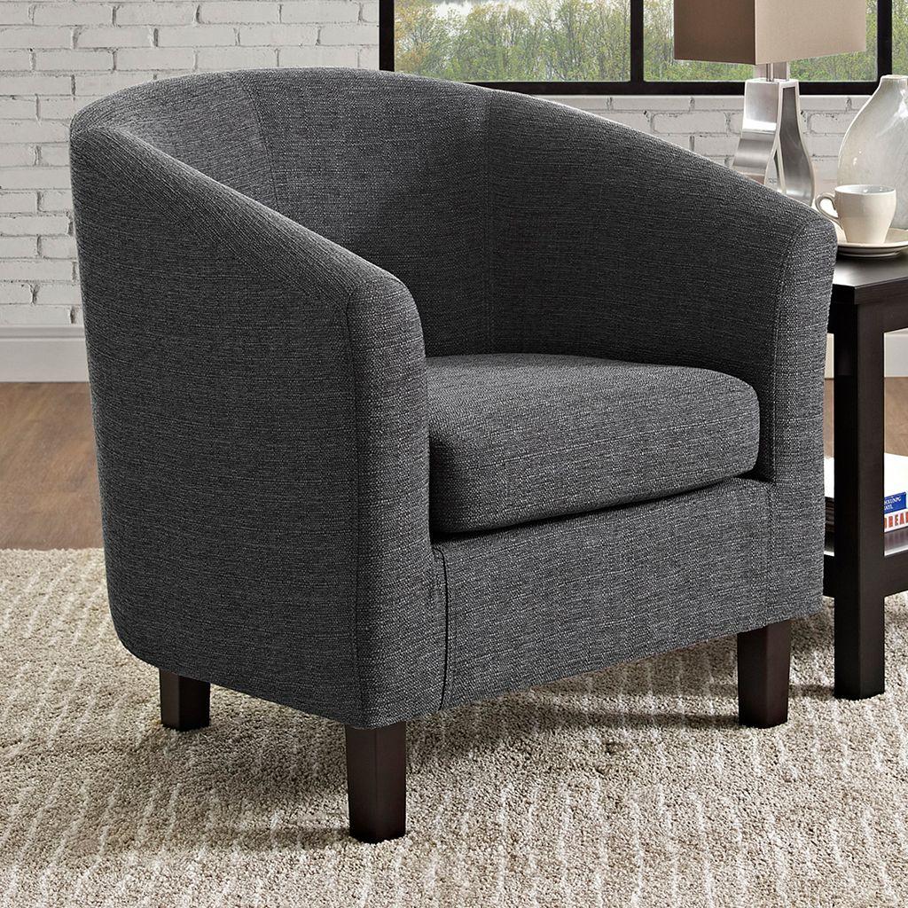 Simpli Home Austin Tub Accent Chair