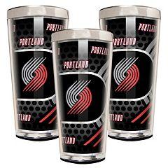 Portland Trail Blazers 3-Piece Shot Glass Set