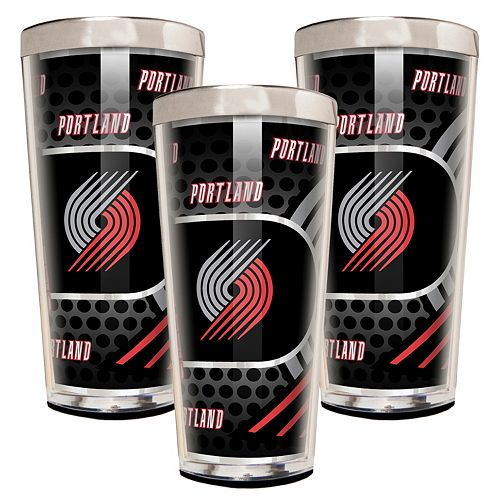 Portland Trail Blazers 3-Piece Shot Glass Set