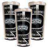 San Antonio Spurs 3-Piece Shot Glass Set
