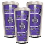 Sacramento Kings 3-Piece Shot Glass Set