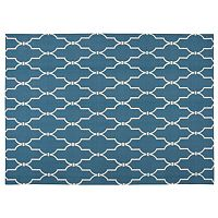 Nourison Home & Garden Wave Trellis Indoor Outdoor Rug