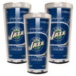 Utah Jazz 3-Piece Shot Glass Set