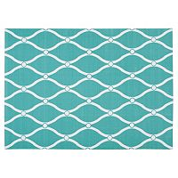 Nourison Home & Garden Swirl Trellis Indoor Outdoor Rug