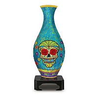 BePuzzled 160 pc Lifestyle 3D Day of the Dead Puzzle Vase