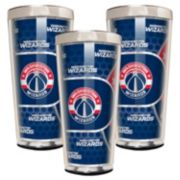 Washington Wizards 3-Piece Shot Glass Set