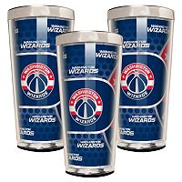 Washington Wizards 3-Piece Shot Glass Set