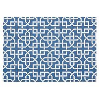 Nourison Home & Garden Lattice Geo Indoor Outdoor Rug