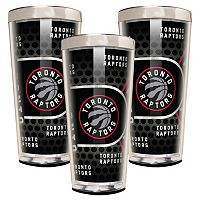 Toronto Raptors 3 pc Shot Glass Set