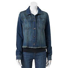 Juniors Denim Jackets Coats &amp Jackets - Outerwear Clothing | Kohl&39s