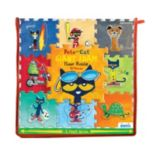 Briarpatch 18 pc Pete The Cat Giant Foam Floor Puzzle