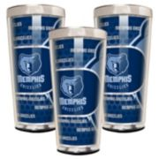 Memphis Grizzlies 3-Piece Shot Glass Set