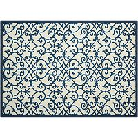 Nourison Home & Garden Caged Scroll Indoor Outdoor Rug