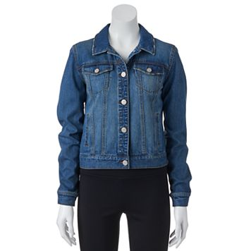 Juniors' Mudd® Faded Denim Jacket