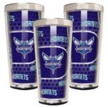 Charlotte Hornets 3-Piece Shot Glass Set