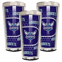 Charlotte Hornets 3-Piece Shot Glass Set