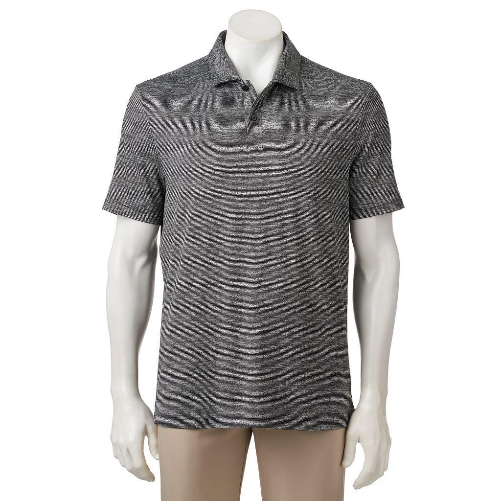 Men's FILA SPORT® Elite Classic-Fit Feeder-Striped Tru-Dry Performance Polo