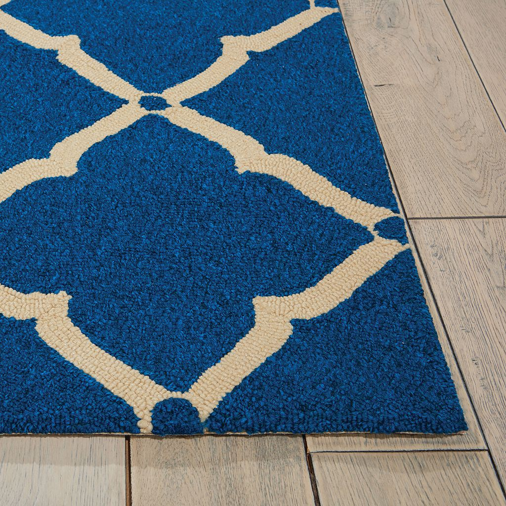 Nourison Portico Diamond Lattice Indoor Outdoor Rug