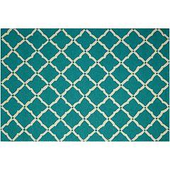 Nourison Portico Diamond Lattice Indoor Outdoor Rug