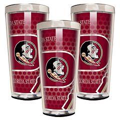 Florida State Seminoles 3-Piece Shot Glass Set