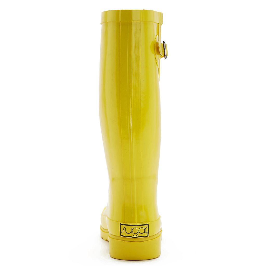 sugar Robby Women's Water Resistant Rain Boots