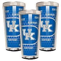 Kentucky Wildcats 3 pc Shot Glass Set