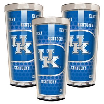 Kentucky Wildcats 3-Piece Shot Glass Set