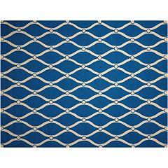Nourison Portico Abstract Lattice Indoor Outdoor Rug