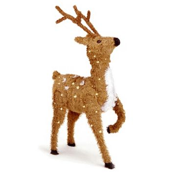 National Tree Company 36 ft. Prancing Reindeer Floor Decor