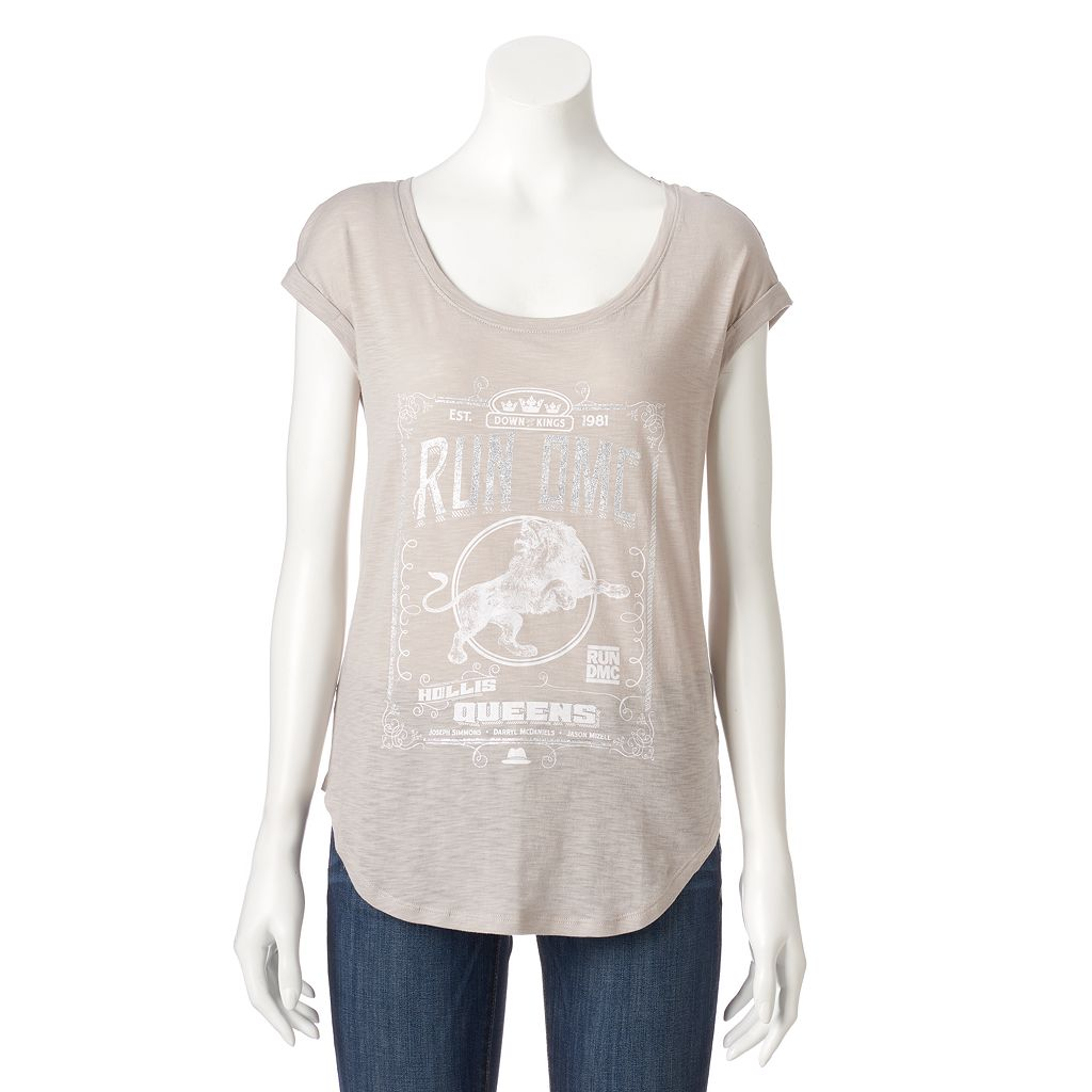 Women's Rock & Republic® Run DMC Graphic Tee
