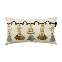Bombay® India Tassels Lumbar Pillow